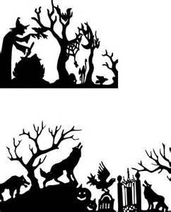 halloween svg halloween silhouette scene free svg files svg s