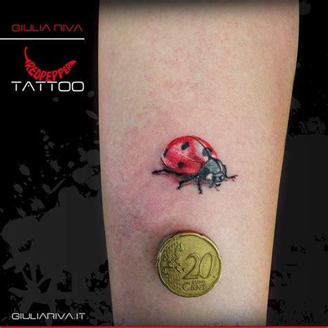 pin pin vd con fata coccinella orchidea a colori tattoo