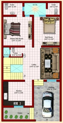 house map design 20 x 50 gorgeous 25 x 50 house 3d plans map 15 215 50 house design