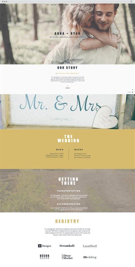 Wedding Invitation Website Template Wix Website Templates Pinterest Template And Website Invitation Website Templates