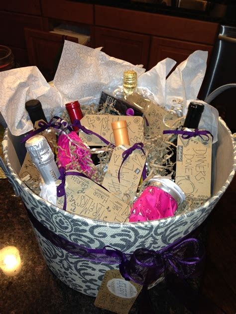 bachelorette party gift basket  firsts bachelorette party gifts