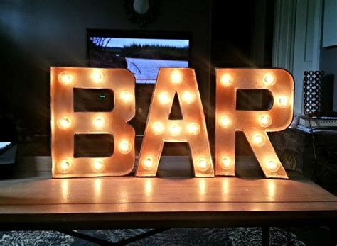 Bar Sign Light by In Bar Light Up Marquee Sign