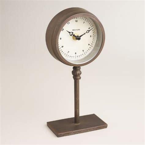 pedestal clock ryan pedestal clock world market