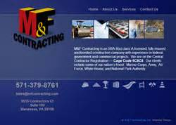 design build federal contracts m f concrete inc construction services for the