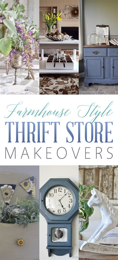 cottage chic store farmhouse style thrift store makeovers diy
