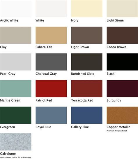 metal roofing colors best 25 metal roof colors ideas on farm house