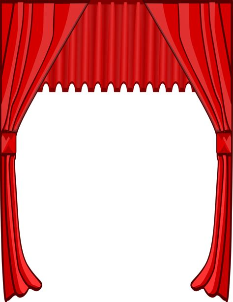 curtain art curtain clip art cliparts co