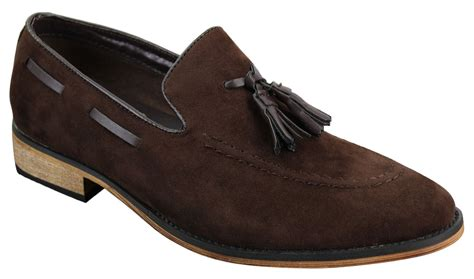 italian suede loafers mens italian slip on driving shoes loafers tassle suede