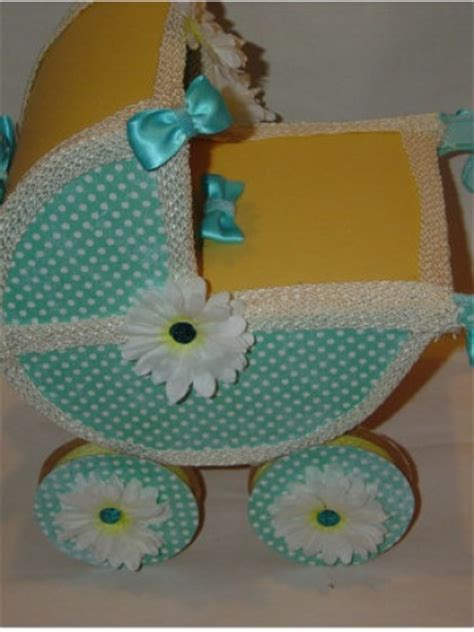 baby carriage decorations for baby shower new baby carriage baby shower centerpiece keepsake