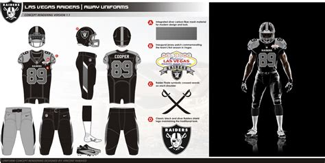 Home Design 3 Story by Uni Watch Presents The Best Fan Designed Raiders Uniforms