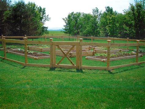 Vegetable Garden Fence Ideas Coolest Vegetable Garden Fencing Ideas Jbeedesigns Outdoor