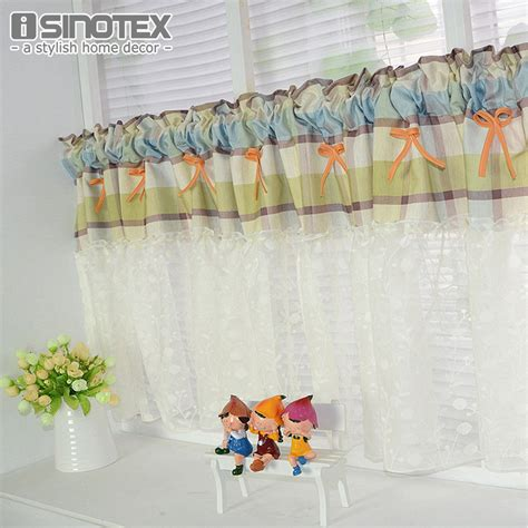 linens kitchen curtains linen lace coffee curtains for the kitchen half curtain embroidery window valance customize