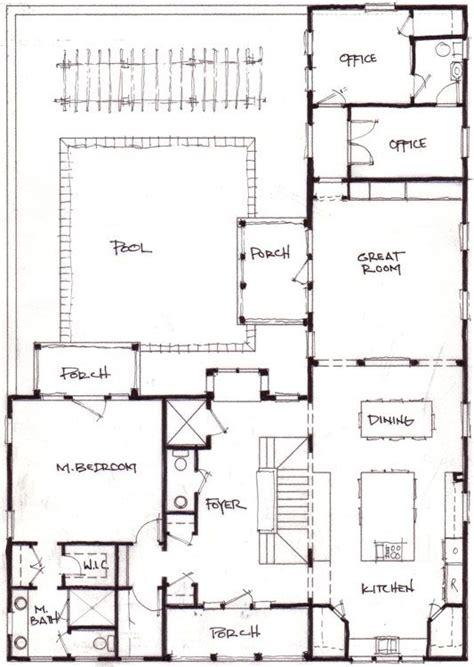 floor plan l shaped house l shaped home and office plans container homes pinterest office plan
