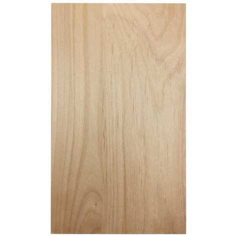 Unfinished Solid Slab Superior Alder Cabinet Door Alder Cabinet Doors