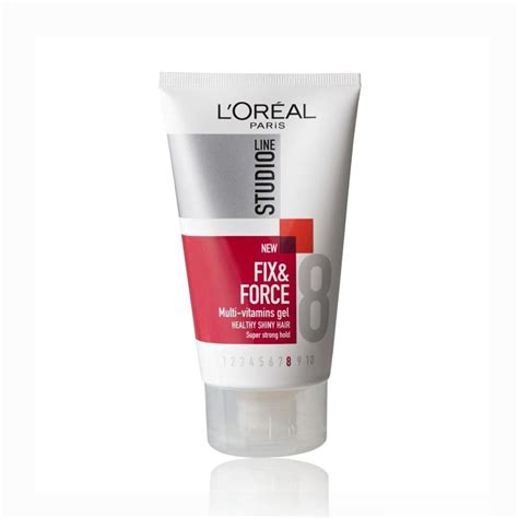 Harga Loreal Hair Vitamin loreal studio line fx gel strong 150 ml