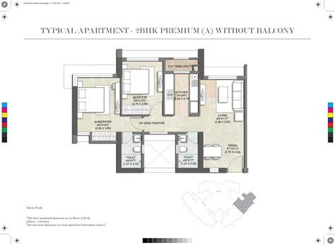 paramount floor plan kalpataru paramount at thane mumbai price plans reviews