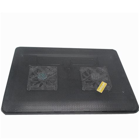 Notebook Cooling Pad Computer 4 Fan S60 Black notebook cooling pad 2 fan for 13 inch laptop computer