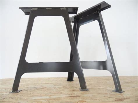diy sturdy table legs 28 quot a frame table bases height 26 quot 32 quot set 2 steel table legs and cross beam