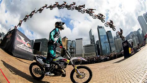 bull freestyle motocross high flying fmx tricks in hong kong bull x fighters