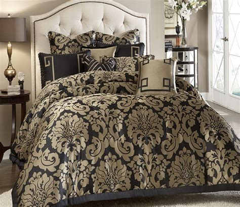 black and gold king size comforter sets home design ideas
