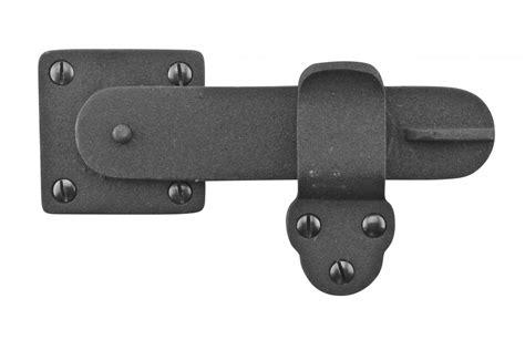 Gate Latch Black Wrought Iron 5 3 4 Quot By 3 3 8 Quot