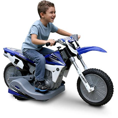 battery powered motocross bike yamaha battery powered motorcycle walmart com