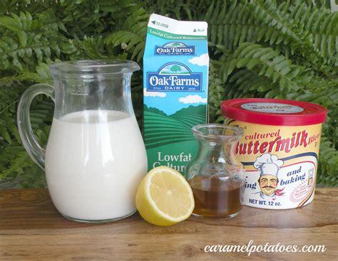 buttermilk substitute caramel potatoes 187 kitchen talk substitutes for buttermilk