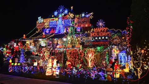 house with the mostxmas light in the world amazing york fundraising light display a harbinger of toronto