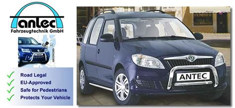 skoda roomster accessories skoda roomster mpv accessories 2010 antec stainless