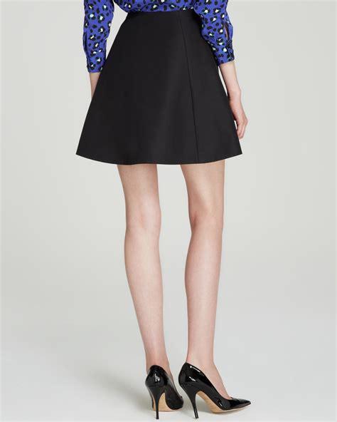 Kate Spade Mini kate spade new york lula mini skirt in black lyst