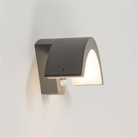 outdoor wall lamp motion led sweden dark grey