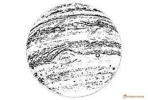 jupiter coloring pages jupiter planet page coloring pages
