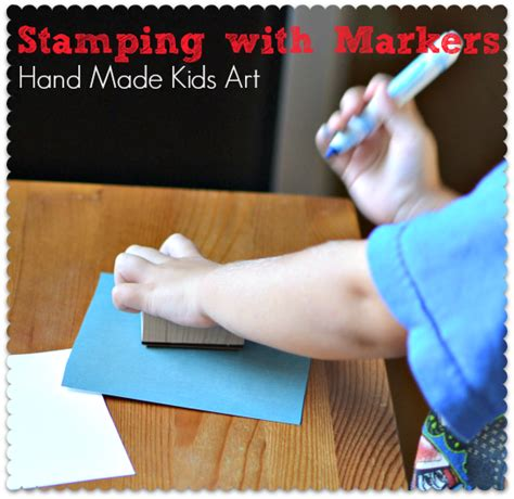 Crafts With Paper And Markers - marker paper crafts
