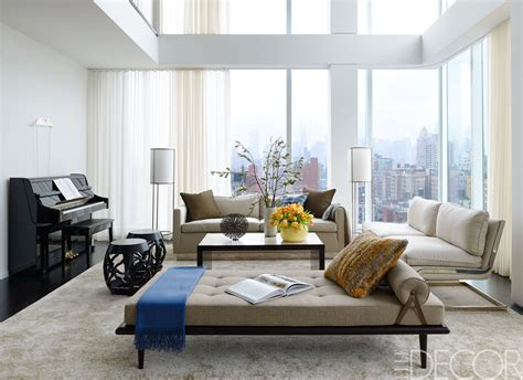 new york wohnzimmer house tour a new york penthouse shows the cozy side of