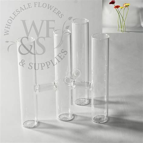 Stem Flower Vases by Four Stems Glass Vase Wholesale Flowers And Supplies