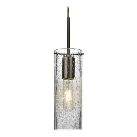 Besa Pendant Lights Besa Lighting Juni Bronze Mini Pendant Light With Cylindrical Shade 1jt Juni10cl Br