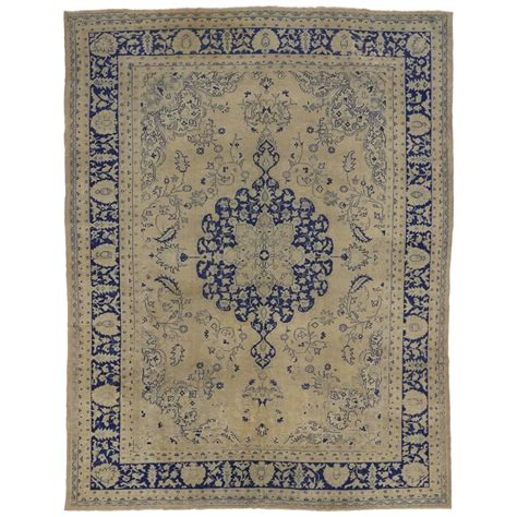 chinoiserie rug semi antique turkish oushak rug with chinoiserie style for sale at 1stdibs
