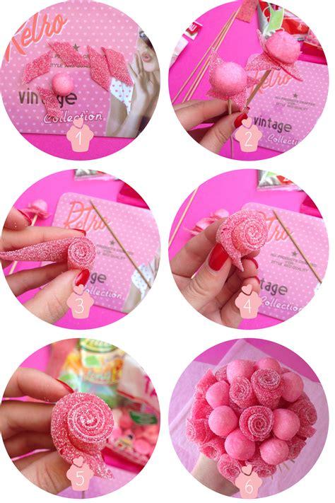 etapes diy bonbons arbres 224 bonbons pinterest bonbon