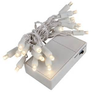 Battery operated lights 20 warm white battery operated 5mm led