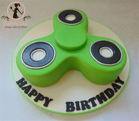 Home Made Cake Decorations by Fidget Spinner Cake Cakecentral Com
