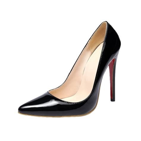 high heels fashion high heels solid color pointed toe pumps azbro