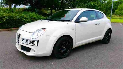 alfa romeo mito alloys alfa romeo 2009 mito lusso 3 tb 120 with black alloy