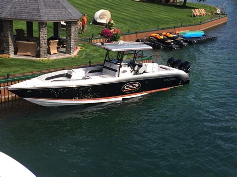 donzi boats sale donzi 38 zfx open center console 2010 for sale for