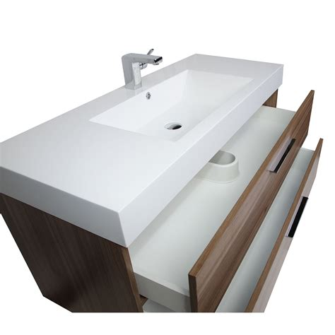 47 bathroom vanity 47 inch contemporary bathroom vanity in walnut rs l1200 wn