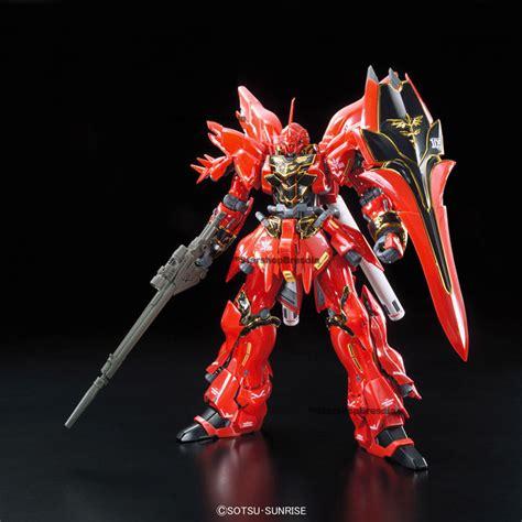 Bandai Gundam Real Grade Kits 1 144 Rg Zeta Gundam Murah gundam 1 144 msn 06s sinanju real grade model kit rg