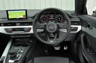 Audi A4 Dashboard 2016 Audi A4 Avant 2 0 Tfsi S Line Review Review Autocar