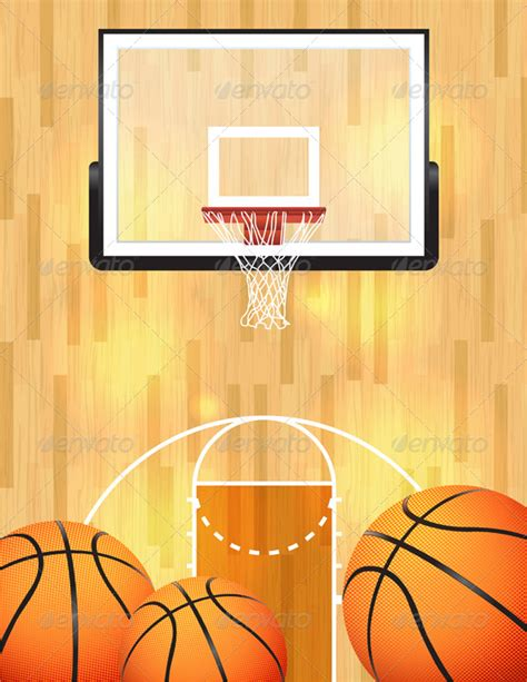 Home Decorative Wallpaper by Vector Basketball Background By Enterlinedesign Graphicriver