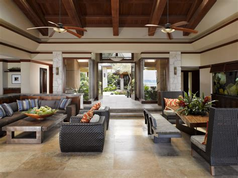 tropical living rooms applegate tran interiors tropical living room hawaii
