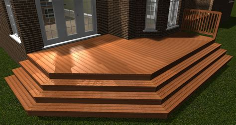 wrap around deck designs softplan home design software decks