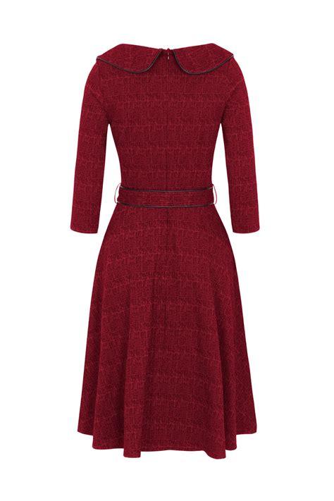 red swing dress uk voodoo vixen lilly 40s red swing dress wine retro dress